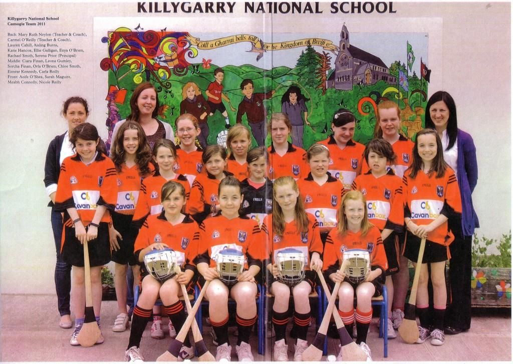 St. Brigid's National School Killygarry Camogie Team 2011