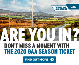 GAA Season Ticket 2020
