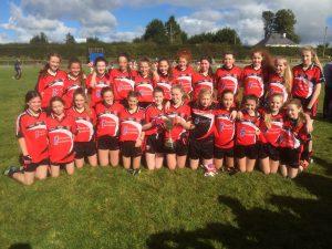 Killygarry U-14 Girls Unbeatable in 2016