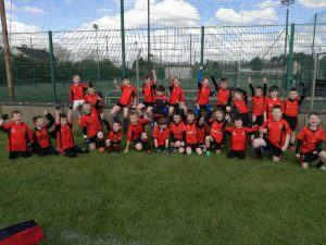 Victorious Under 8 Boys