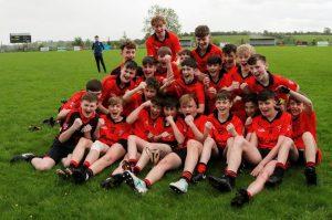 U15 Boys are County League Div 1 Champions