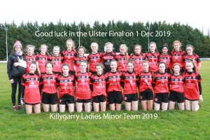 Minor Ladies through to Ulster Final