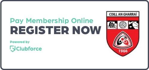 Killygarry GAA Membership