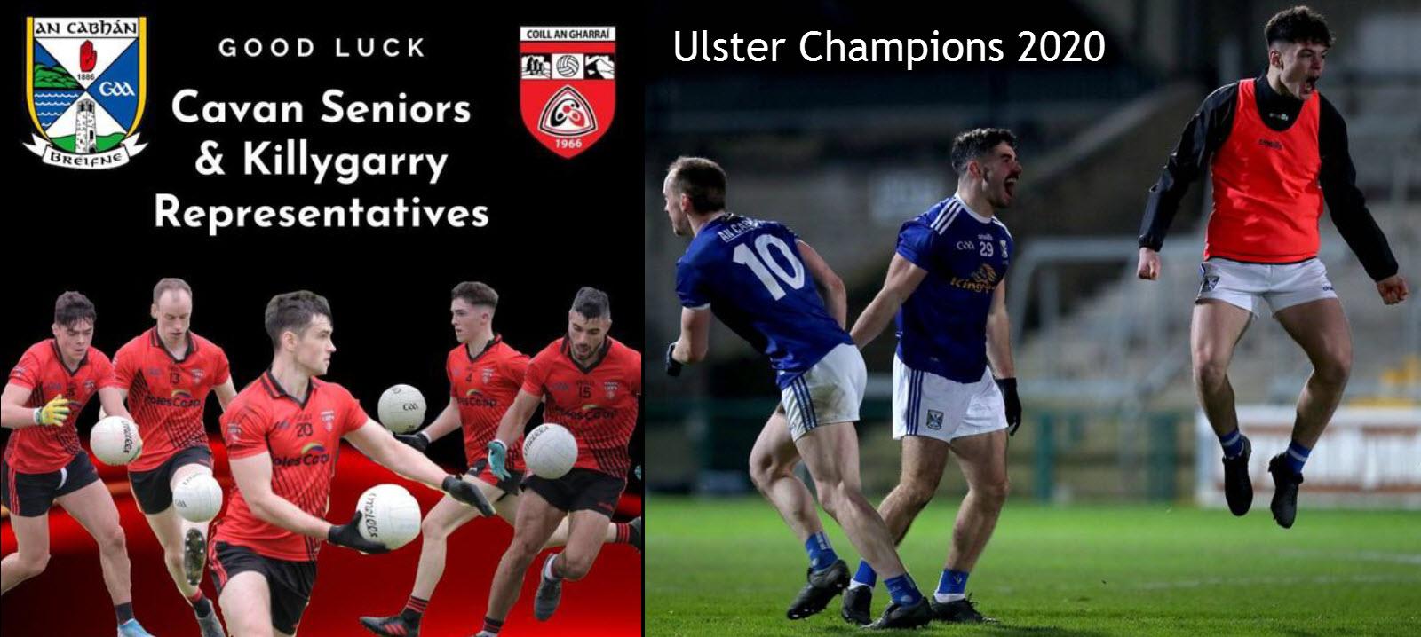 Cavan are Ulster Senior Champions 2020
